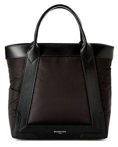 "Spotted this Balenciaga ""Navy Cabas"" Small Nylon & Leather Bag on Rue La La. Shop (quickly!)."