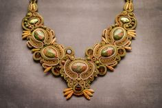 Soutache necklace now on etsy: #etsy #etsysellersofinstagram #etsyshop #etsysellers #handmadenecklace #fashion #necklace #beautifulgirl #nahrdelnik #slovenskydizajn #slovakiahandmade #jewelrydesign #musthave  #bratislava #kosice #soutache