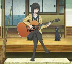 Makoto Kowata and her familiar Chito