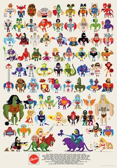 Masters of the Universe/Modern retro comic 2 Thundercats, Caricatures, Illustrations, Illustration Art, Character Illustration, Halloween Clipart, She Ra Princess Of Power, Gi Joe, Deviantart