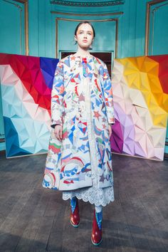 Tsumori Chisato Fall 2016 Ready-to-Wear Fashion Show  http://www.theclosetfeminist.ca/  http://www.vogue.com/fashion-shows/fall-2016-ready-to-wear/tsumori-chisato/slideshow/collection#17