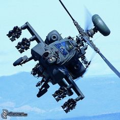 Apache Helicopter - Pray it's not looking for you !!