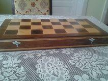 nice big chess box from naturally wood