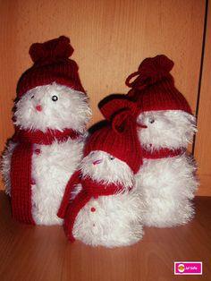 Decoratie in de klas - thema Kerstmis  Sneeuwpoppetjes