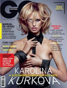 Kurkova men year gq the karolina of
