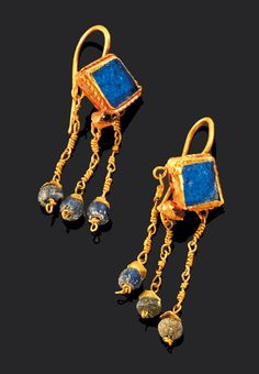 Roman earrings ...