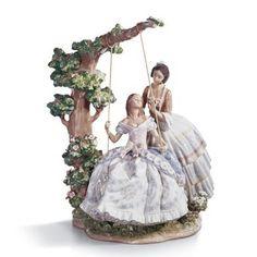 Já vi peças Lladró a venda em Saint Martin, no Caribe, e também em alguns leilões de arte. Elas são encantadoras.