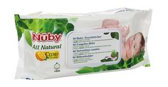 Tester Nûby All Natural Baby-Feuchttücher