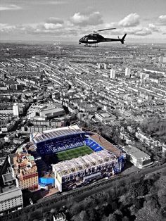 Stamford Bridge - Home of Chelsea Football Club - Est:1905