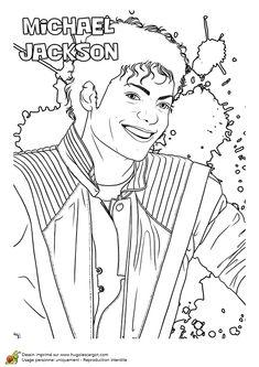 Dessin coloriage du chanteur matt pokora dessins de for Michael jackson billie jean coloring pages
