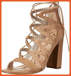 Sam Edelman Women's Yona Golden Caramel Sandal - Sandals for women (*Amazon Partner-Link)