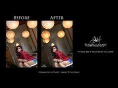 'Komang Ayu' Speed Art Retouch | Photoshop CC - YouTube || Blurry Version