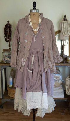 Magnolia Pearl Linen Farm Dress