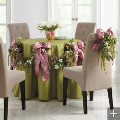 Pretty Table for Easter
