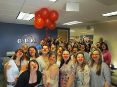 Red Nose Day 2015! Stuffy and stodgy? Not Asurea! https://www.asurea.com/red-nose-day-at-asurea