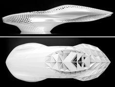 Mercedes Benz sculpture experiments