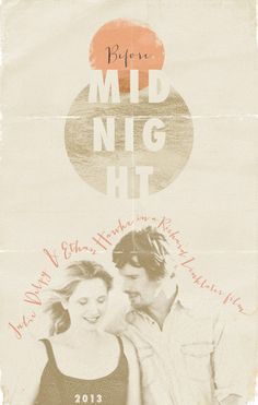 Before Midnight (Richard Linklater) Before Midnight, Before Sunrise, Before Trilogy, O Film, Still Picture, Alternative Art, Great Films, Romantic Movies, Moving Pictures