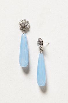 Brooch Drop Earrings
