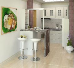 simple kitchen | Uploaded By: ari99 | Revit Rendering Revit Rendering, Building Information Modeling, First Home, Blueberry, Arch, Interior Design, Simple, Kitchen, House
