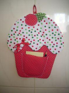 Porta recados Cupcake