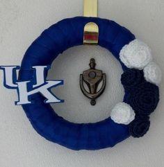 DIY - University of Kentucky Wreath