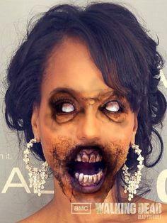 13 Celebrities As Zombies