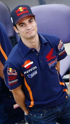 Dani Pedrosa. Cutest yet ferocious rider on earth #Motogp #OneOfMyFav
