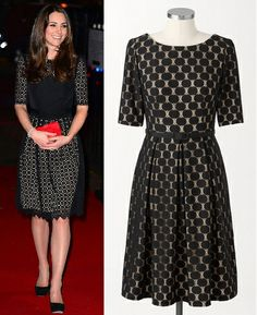 Kate Middleton Style Inspiration. SHOP repliKates of the Temperley 'Templeton' dress