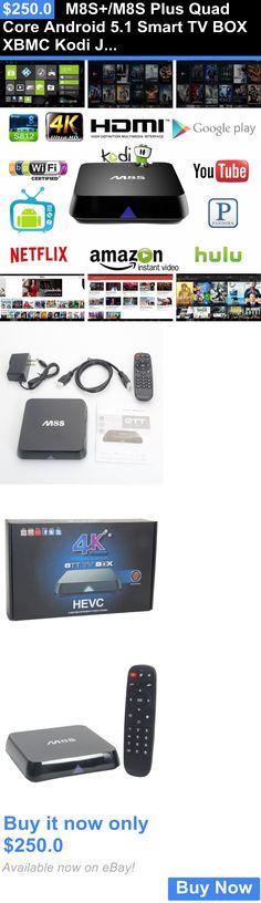 Home Audio: M8s+/M8s Plus Quad Core Android 5.1 Smart Tv Box Xbmc Kodi Jailbreak 3D Fire Xtr BUY IT NOW ONLY: $250.0