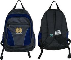NCAA Notre Dame Fighting Irish Team Backpack Arizona Wildcats 4e126c5484901