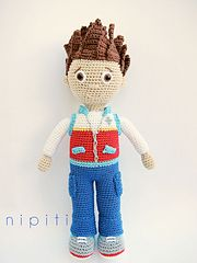 Ravelry: Ryder from Paw Patrol pattern by nipiti