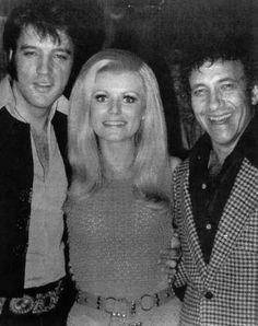 Elvis Presley and Comedian Sammy Shore