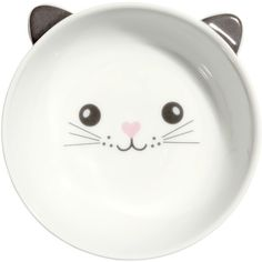 Small Bowl $5.99 ($5.99) ❤ liked on Polyvore featuring home, kitchen & dining, serveware, kitchen, bowl, ceramic cat bowl, ceramic bowl, white ceramic bowl, white serveware and cat bowl