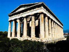 Hephaestus, Athènes, Grèce.