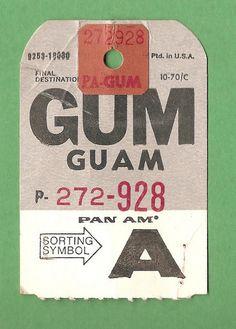 Pan Am - GUM, Guam | Flickr - Photo Sharing!