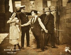 Buster Keaton in Neighbors 1920