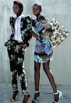 Elizabeth Manyuon and Nikki Thot for Remix Magazine.