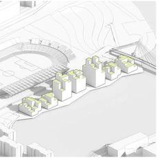 architecture site plan diagram _ BIG