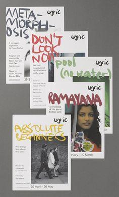 Lyric Theatre - Colorful graphic design - Print / Editorial