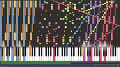 """Death Waltz Synthesia """"If you think this is crazy, you should check out the music sheet, just as insane! O.O"""""""
