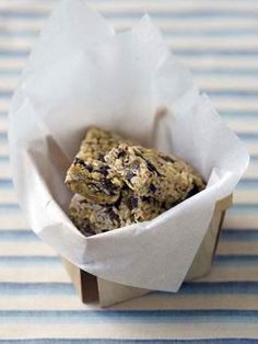 These granola bars are not-too-sweet, crunchy, toasty and truly delicious -- a perfect addition to lunchboxes and snack packs. You may also want to try our vegan version:  Maple and Carob Chip Granola Bars.