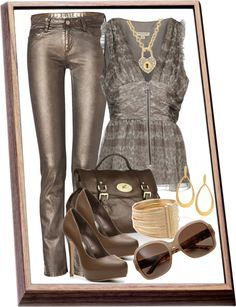 """""""Evening Casual"""" by rooney-chu on Polyvore"""