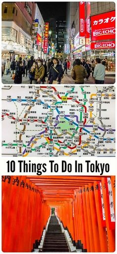 10 Things to do in Tokyo! Tokyo travel tips for your Japan trip