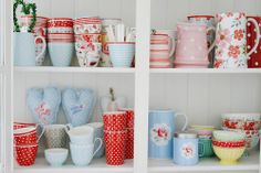 Greengate+and+Cath+Kidston+Collection+on+shelves 10 Must Have Props For Styling Food Photography
