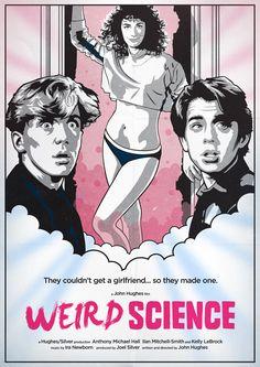 Weird Science - movie poster - oldredjalopy.deviantart.com
