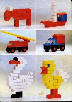 50 Easy Lego Building Project for Kids - mybabydoo - Lego duplo bauanleitung - Building For Kids, Lego Building, Building Ideas, Legos, Easy Lego Creations, Lego Therapy, Lego Basic, Construction Lego, Lego Challenge