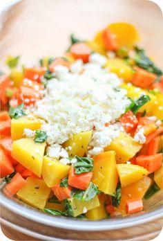 Adventures in Cooking: Golden Beet Salad with Feta