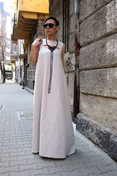 Hey, I found this really awesome Etsy listing at https://www.etsy.com/listing/272783210/linen-dress-kaftan-dress-maxi-dress