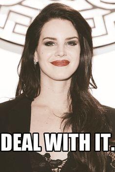 Lana Del Rey #LDR #GIF #Shades_of_Cool ♥ lol