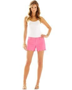 1363513f66fa Lilly Pulitzer - Ladies - Shorts Scalloped Hem